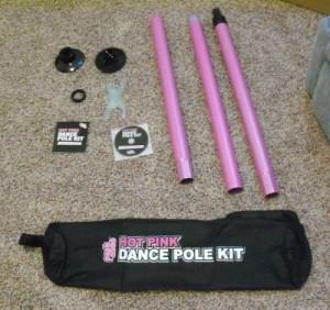 Peekaboo Hot Pink Dance Pole