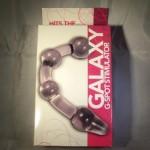Galaxy G Acrylic G-Spot Dildo