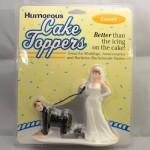 """""""Short Leash"""" Cake Topper"""
