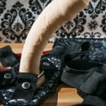 Sportsheets Plus-Size Lace Corsette Strap-On Harness