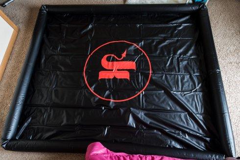 Kink.com Wet Works Ultimate Surrender Inflatable Wrestling Ring Review