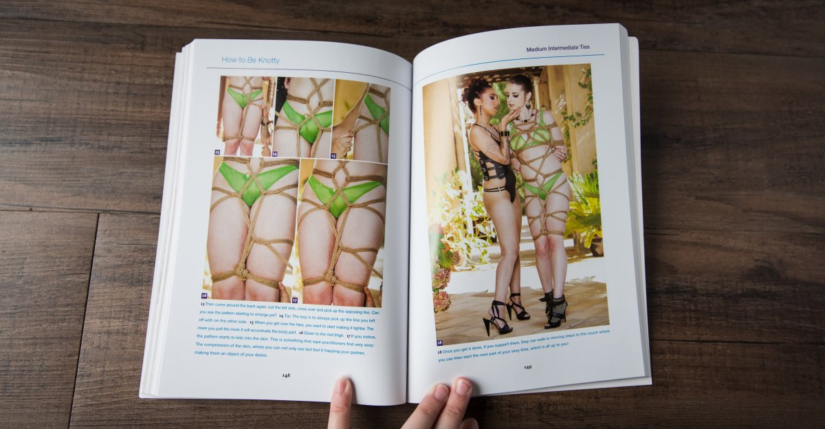 How To Be Knotty Intermediate Rope Bondage Tutorial Book Review